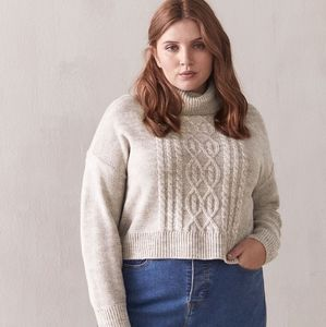 Sweaters - Plus Size Soft Cable Stitvh Sweater 3X